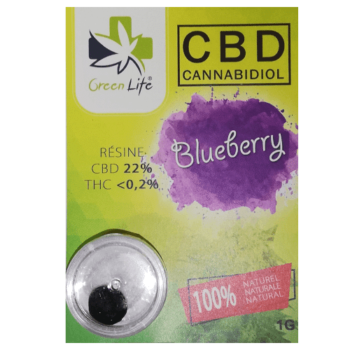 Résine Blueberry 22 gl