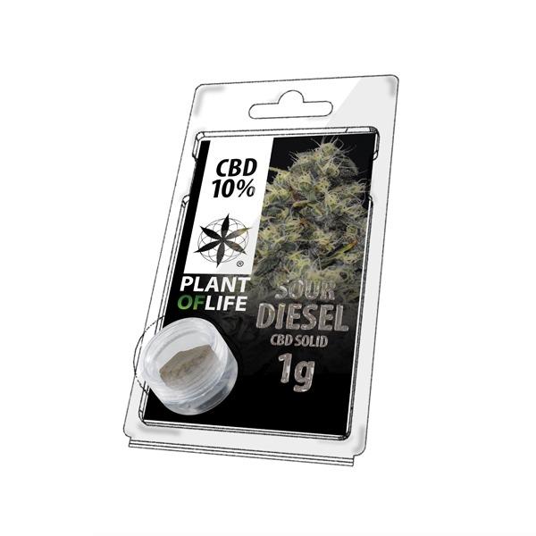 Résine de CBD Sour Diesel