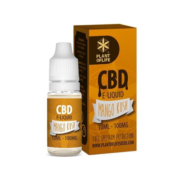 E-Liquide Mango Kush 1% CBD