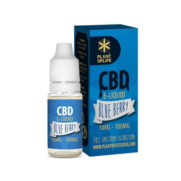 E-liquide CBD blueberry