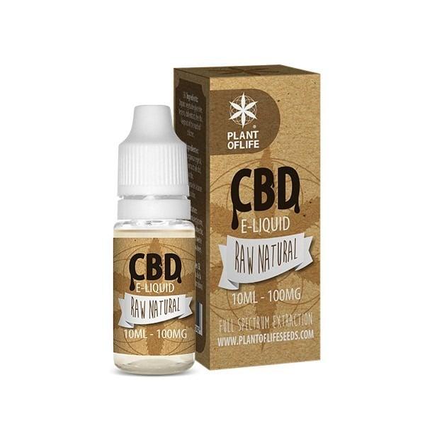 E-Liquide Raw Natural 1% CBD