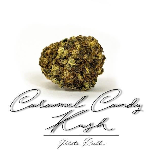 Fleurs CBD de Caramel Candy Kush