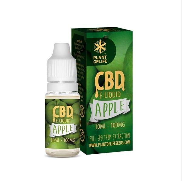 E-Liquide Apple 1% CBD