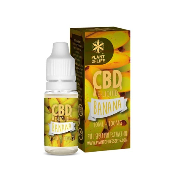 E-Liquide Banana 1% CBD