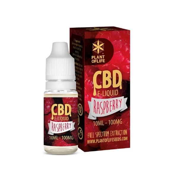 E-Liquide Raspberry 1% CBD