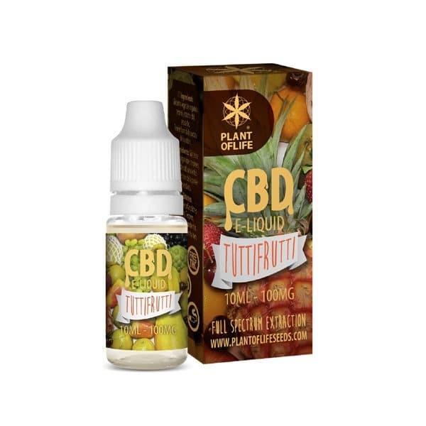 E-Liquide Tutti Frutti 1% CBD