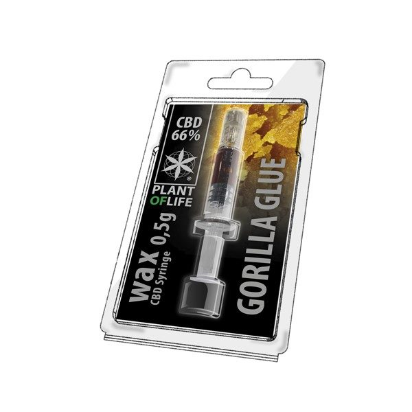 Wax de Gorilla Glue 66% CBD (0.5g)