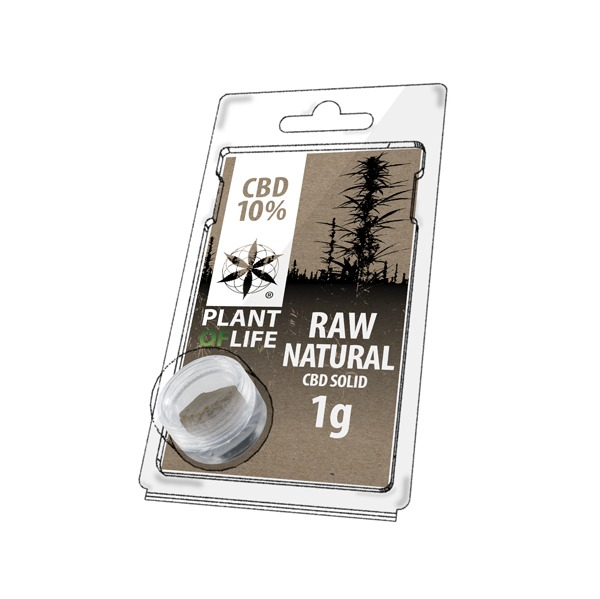 Raw Natural 10% CBD