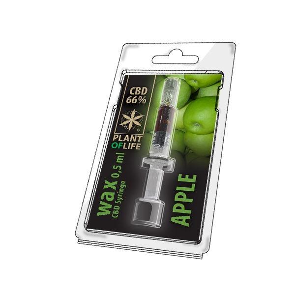 Wax de Apple 66% CBD (0.5g)