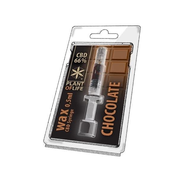 Wax de Chocolate 66% CBD (0.5g)