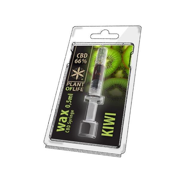 Wax de Kiwi 66% CBD (0.5g)