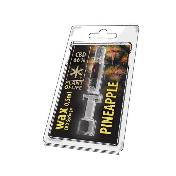 Wax de Pineapple 66% CBD (0.5g)