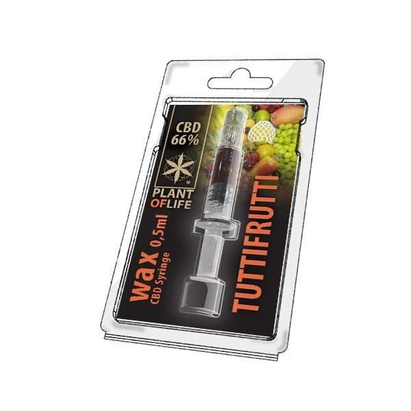 Wax de Tutti Frutti 66% CBD (0.5g)