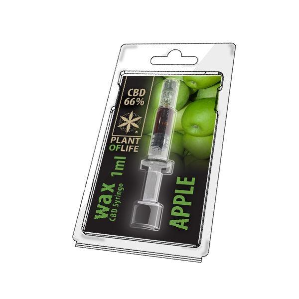 Wax de Apple 66% CBD (1g)