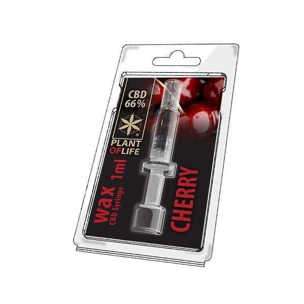 Wax de Cherry 66% CBD (1g)