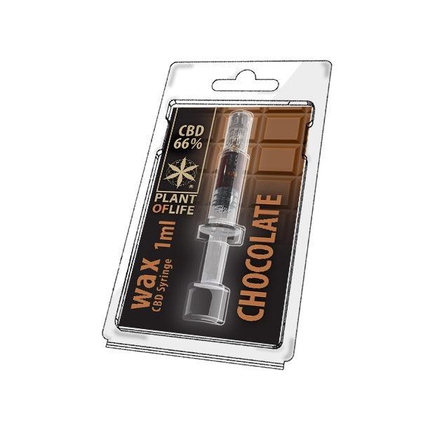 Wax de Chocolate 66% CBD (1g)