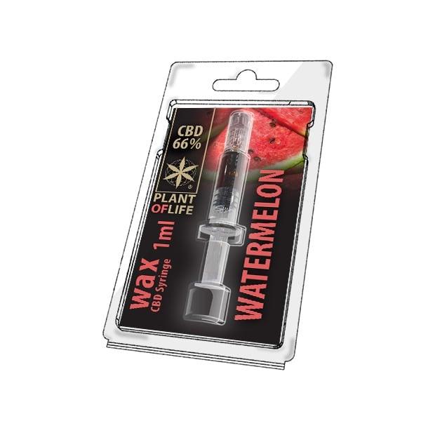 Wax de CBD Watermelon - Pastèque