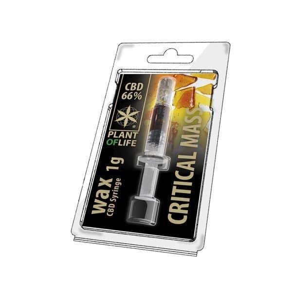Wax de Critical Mass 66% CBD (1g)